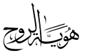 Identity of the Soul Arabic logo